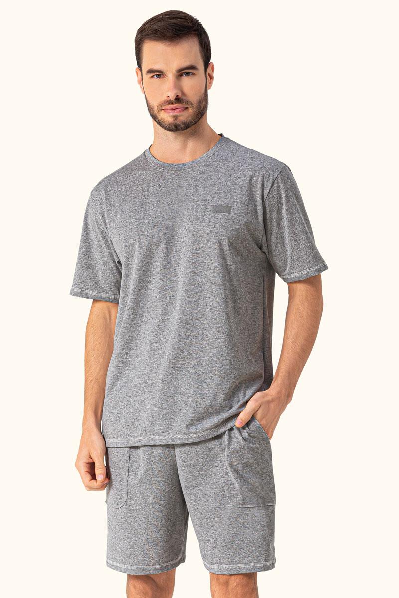 Pijama Manga Curta