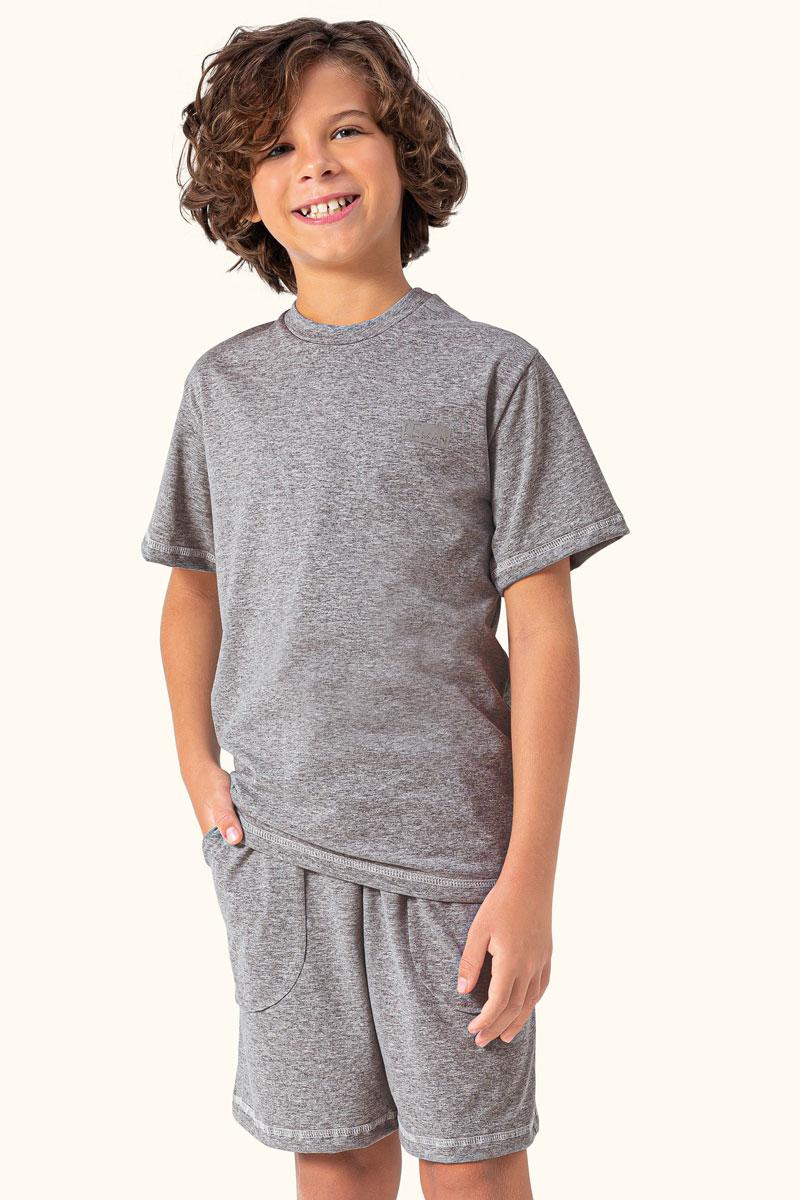 Pijama Manga Curta Juvenil