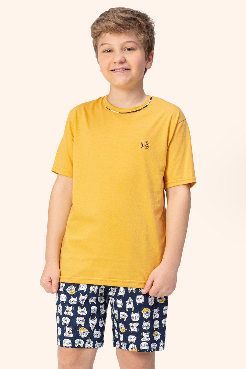 Pijama Manga Curta | Juvenil