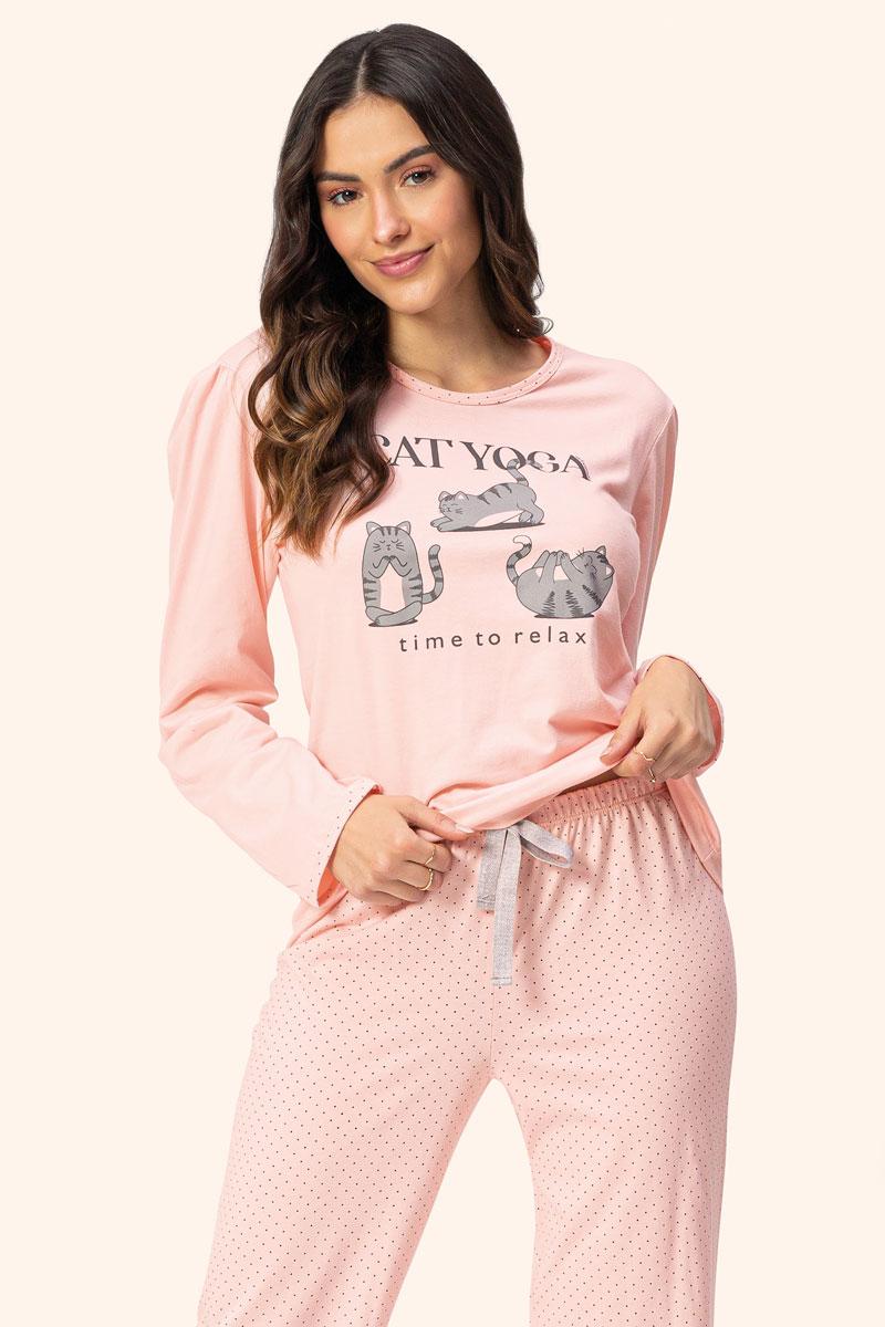 Pijama Manga Longa Bufante
