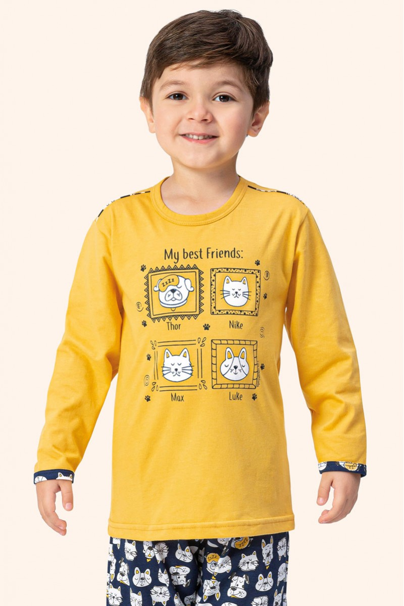 Pijama Manga Longa | Juvenil