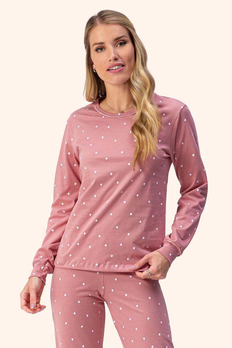 Pijama Manga Longa Moletinho
