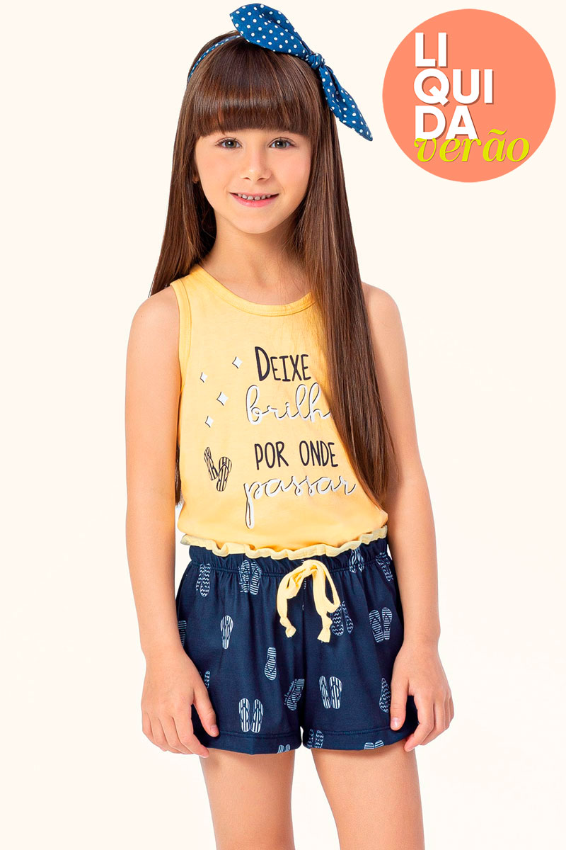 Short Doll Regata | Juvenil
